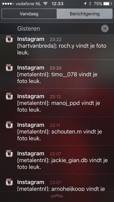 meerdere instagram accounts beheren met instagram berichtgeving