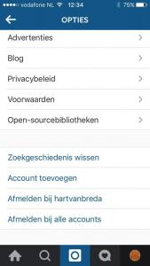 meerdere instagram accounts beheren met instagram toevoegen