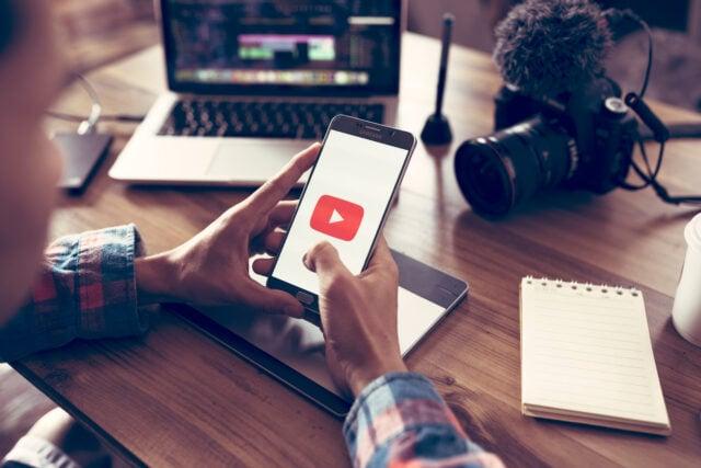 App smartphone YouTube