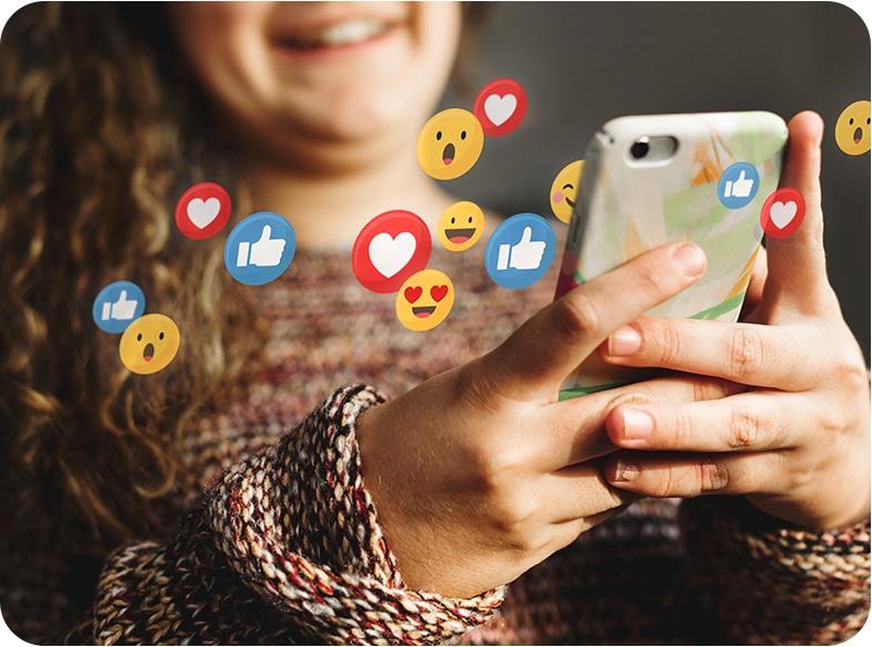 Scholier op social media